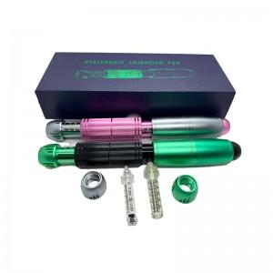China wholesale Hyaluronic Acid Pen - 2 in1 Meso Injection Gun Hyaluron Pen 0.3ml&0.5ml Head Hyaluronic Acid Pen Lip Injection Anti Wrinkle – Risen Beauty