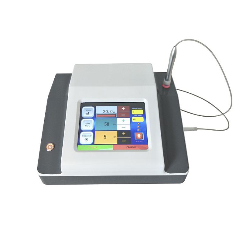 980nm diode laser vein removal machine