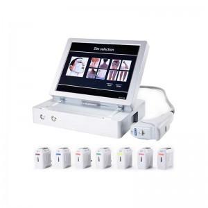 China wholesale Body Shape Machine - Face lifting and weight loss 3D HIFU machine – Risen Beauty