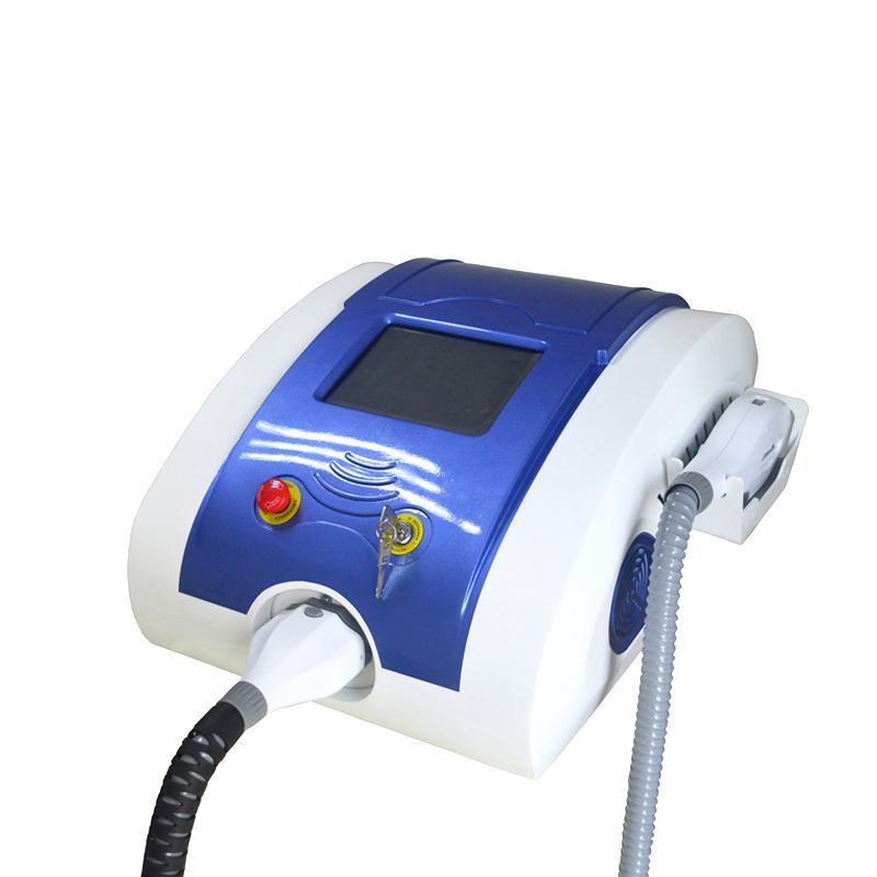 Portable IPL SHR hair removal machine