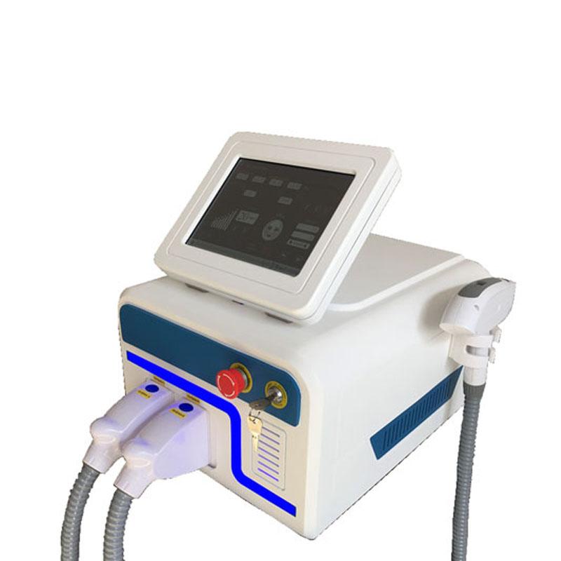 Two handles 640nm IPL SHR hair removal machine