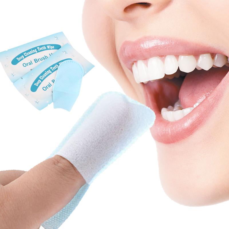 brush up finger wipe the teeth whitening gel