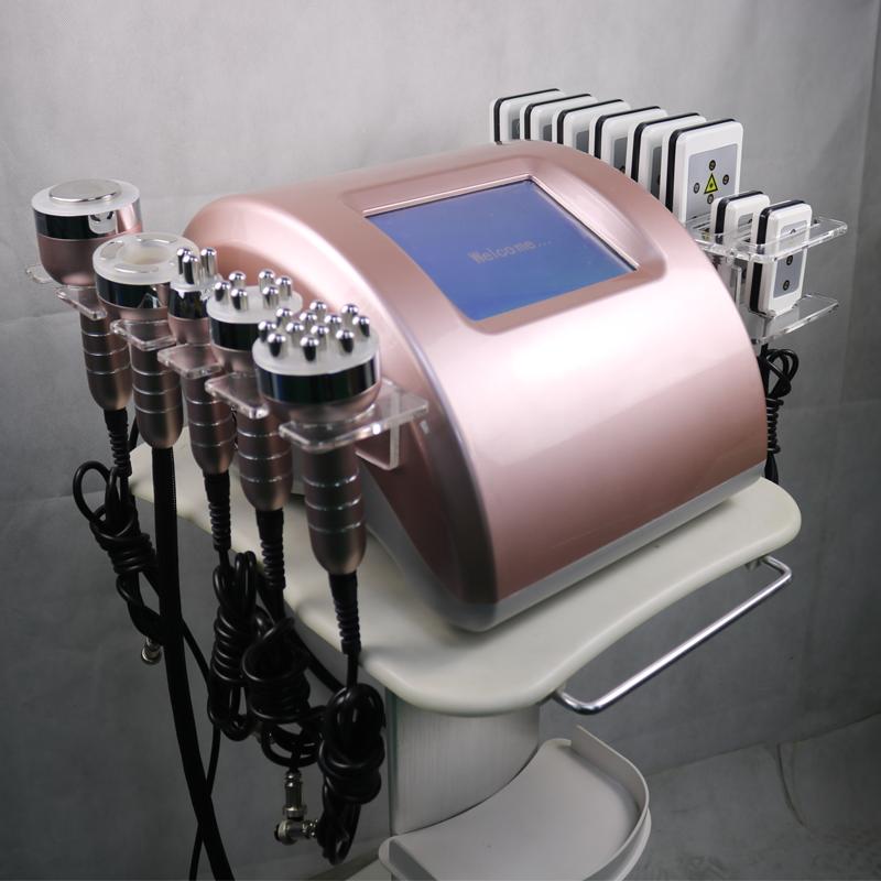 6 in 1 lipo laser slimming machine