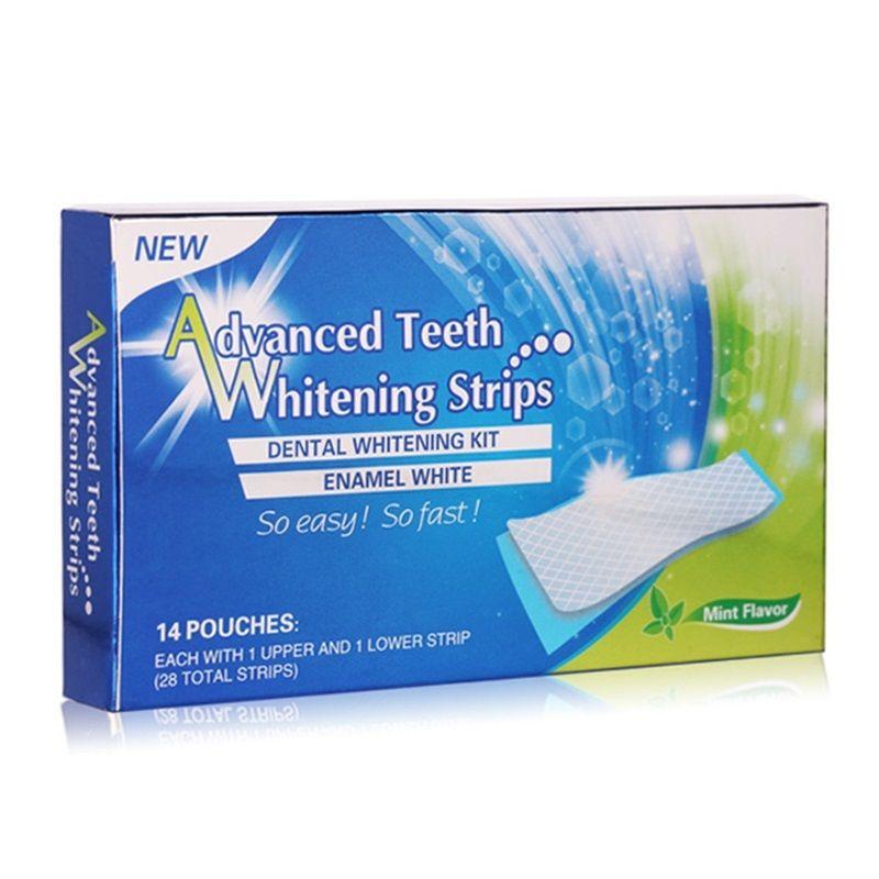 home use mint flavor teeth whitening strip